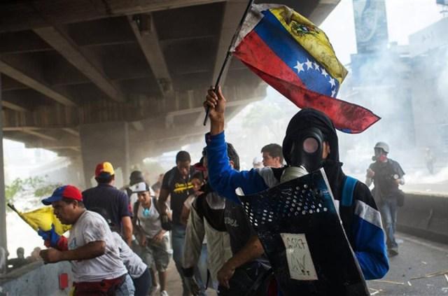 La represión y las muertes no frenan las protestas en Venezuela