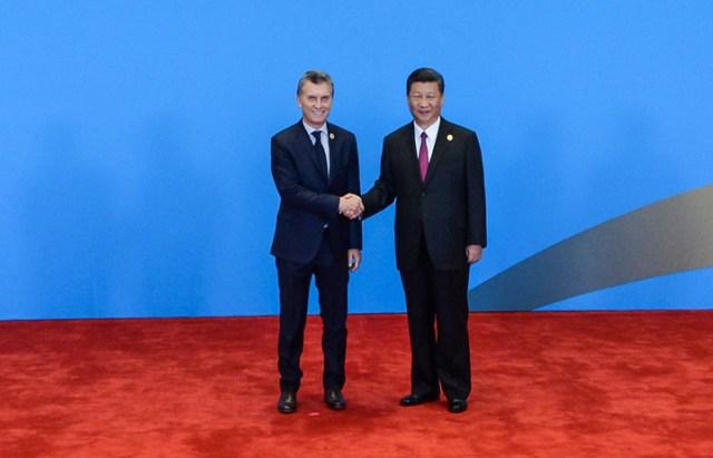 """En China, Mauricio Macri destacó a la Argentina como """"un gran productor de alimentos"""""""