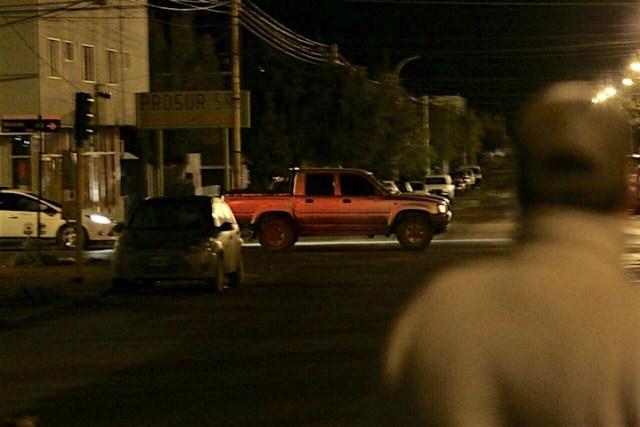 Alicia Kirchner fue evacuada de casa de gobierno a las 05:40 hs - Foto: OPI Santa Cruz/Adrian Barabino