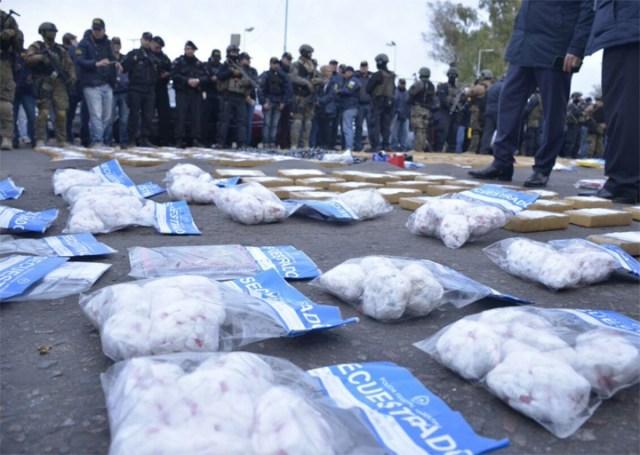 Megaoperativo antinarco en la villa 1-11-14: al menos trece detenidos y 45 mil dosis de paco incautadas