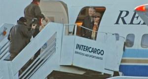 Cuando Chávez saludaba a sus amigos en El Calafate, ya habían repartido U$S 25 millones para cada uno con NK en el Tango 01 - Foto: OPI Santa Cruz/Francisco Muñoz