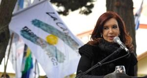 La expresidenta de la nación Cristina Kirchner en El Calafate - Foto: OPI Santa Cruz/Francisco Muñoz