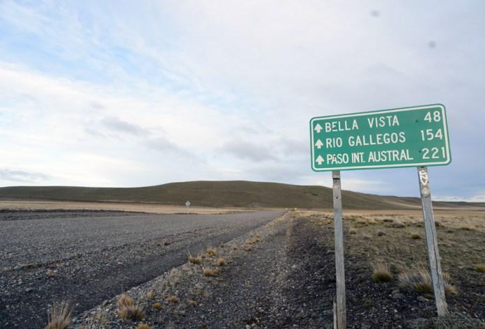 Una de las tantas rutas sin terminar de asfaltar en Santa Cruz - Foto: OPI Santa Cruz/Francisco Muñoz
