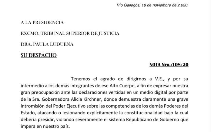 """""""Alicia Kirchner cercena conquistas y derechos adquiridos"""", aseguran los trabajadores judiciales"""