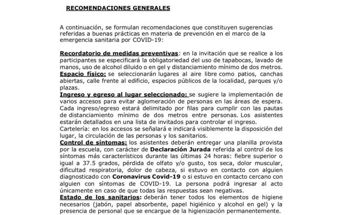 Santa Cruz: Educación prohibió los actos de colación y los egresados se movilizan