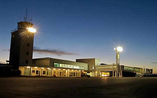 El aeropuerto de Río Grande - Foto: web
