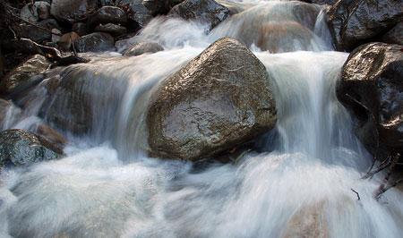 El agua – Foto: OPI Santa Cruz/Francisco Muñoz