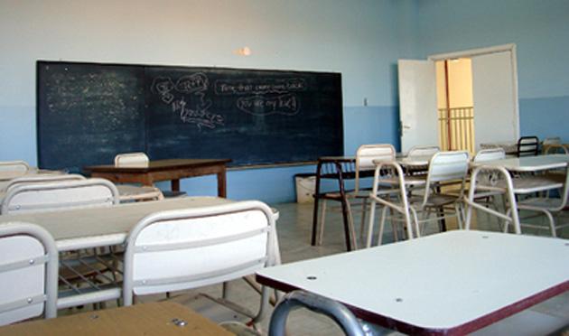 Aulas vacías en muchas escuelas de Santa Cruz - Foto: OPI Santa Cruz/Francisco Muñoz