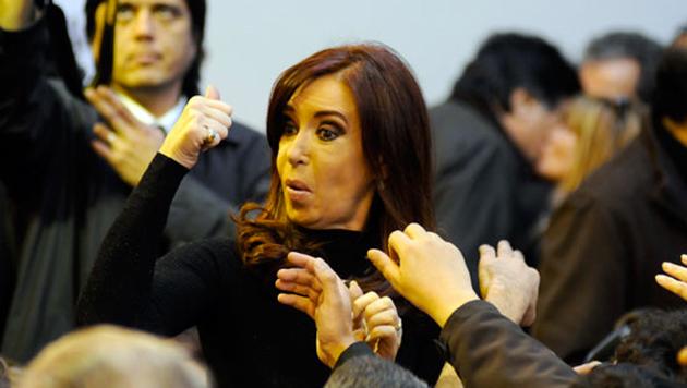 La Presidenta de la Nación Cristina Fernández de Kirchner - Foto: OPI Santa Cruz/Francisco Muñoz
