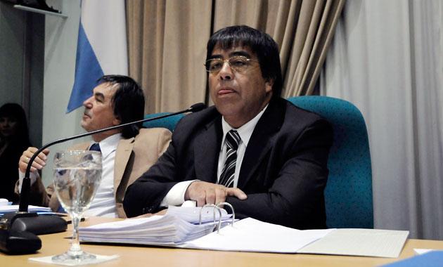 El Presidente del bloque Justicialista de la Legislatura, diputado Rubén Contreras - Foto: OPI Santa Cruz/Francisco Muñoz