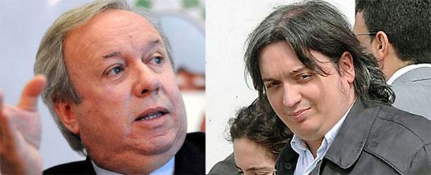 El Gobernador de Santa Cruz Daniel Peralta y Máximo Kirchner el hijo de la Presidenta - Foto: OPI Santa Cruz/Francisco Muñoz