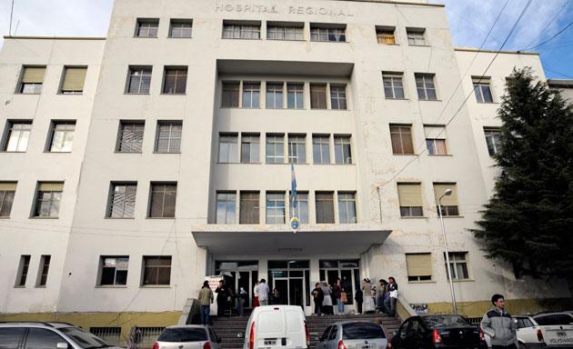 El hospital de Comodoro Rivadavia – Foto: OPI Chubut/Francisco Muñoz