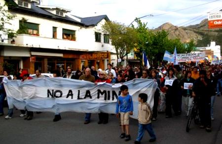 Resistencia a la minería en Chubut