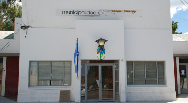 La Municipalidad de Caleta Olivia - Foto: OPI Santa Cruz/Francisco Muñoz