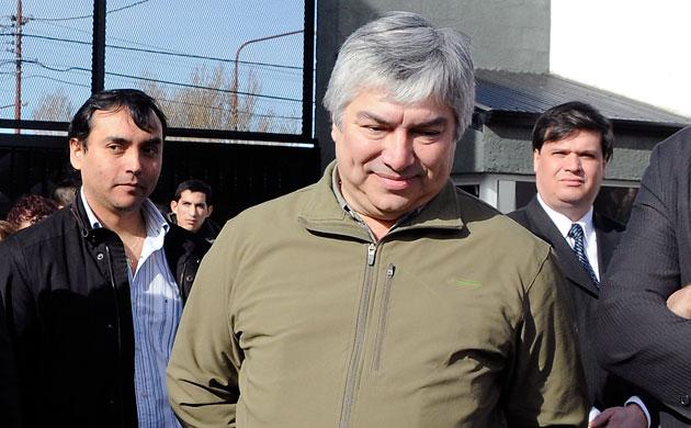 El empresario Santacruceño Lázaro Baez - Foto: OPI Santa Cruz/Francisco Muñoz
