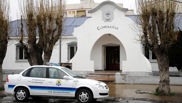 La seccional primera de policía en Río Gallegos - Foto: OPI Santa Cruz/Francisco Muñoz
