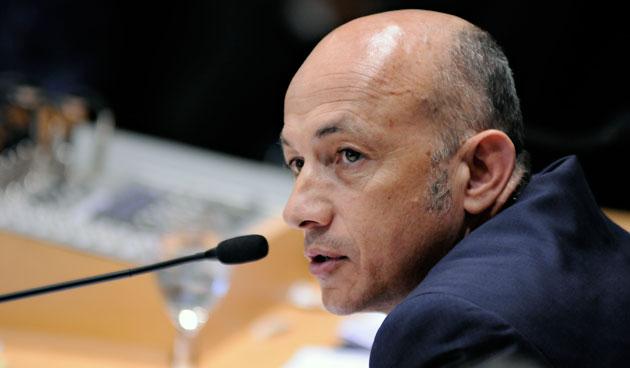 Fernando Cotillo el Vicegobernador de la provincia - Foto: OPI Santa Cruz/Francisco MuC�oz