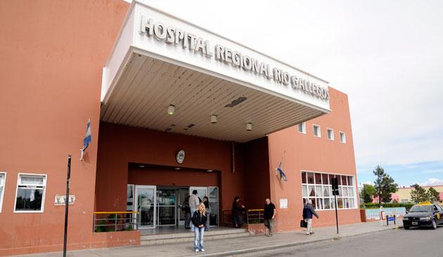 El Hospital de Río Gallegos - Foto: OPI Santa Cruz/Francisco Muñoz