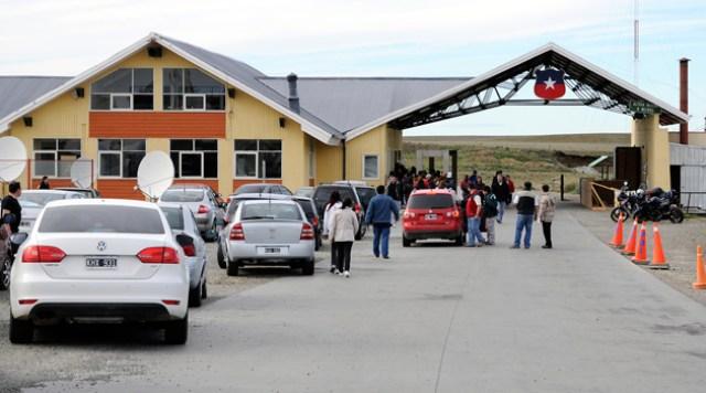 El Paso Integración Austral a 66 km de Río Gallegos - Foto: OPI Santa Cruz/Francisco Muñoz