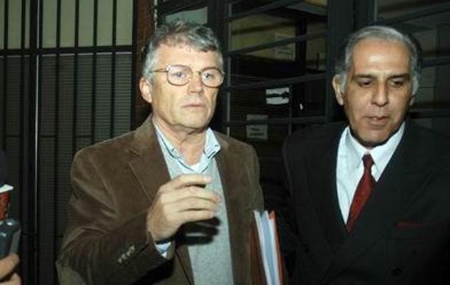 Taselli y su abogado - Foto: El Ancasti