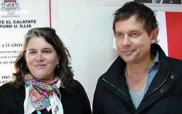Susana Toledo y el Candidato Eduardo Costa - Foto: Web