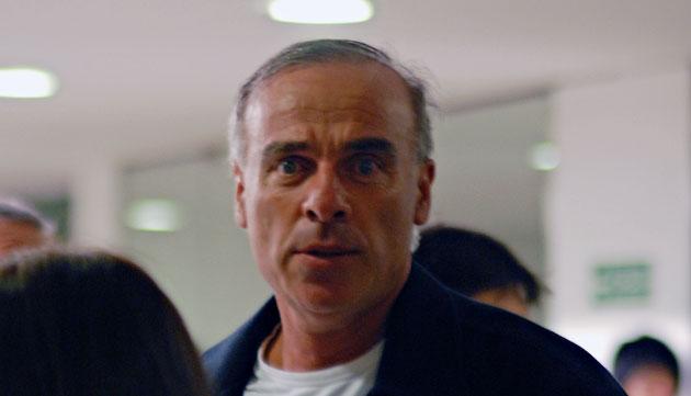 El ex-funcionario Kirchnerista Claudio Uberti en el aeropuerto de Río Gallegos – Foto: OPI Santa Cruz/Francisco Muñoz