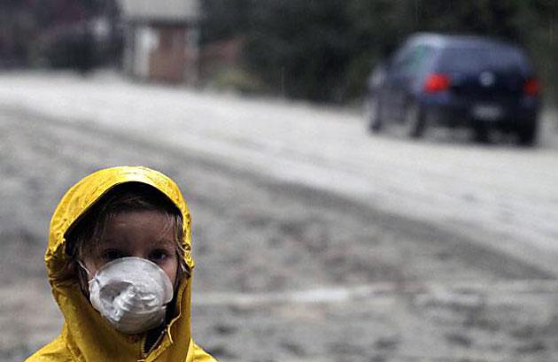 La ceniza del volcán Puyehue castigo duramente a Chubut – Foto: web