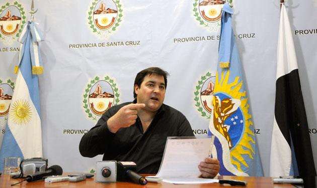 Ariel Ivovich jefe de Gabinete de Santa Cruz - Foto: OPI Santa Cruz/Francisco Muñoz
