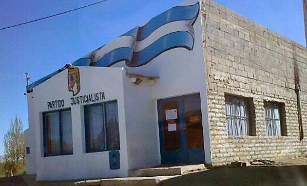 """Sede del PJ en El Calafate donde funciona el """"Comando del Frente Para la Victoria"""" - Foto: OPI Santa Cruz"""