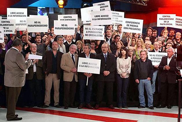Los Periodistas en el programa de Jorge Lanata - Foto: Captura TV