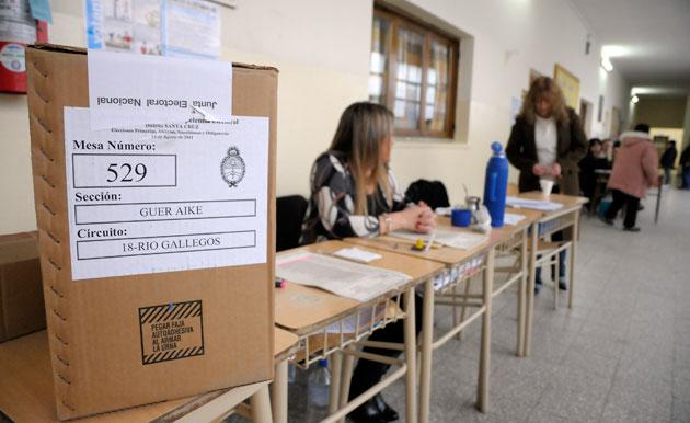 Todas las miradas apuntan a las urnas el próximo 23 de octubre – Foto: OPI Santa Cruz/Francisco Muñoz