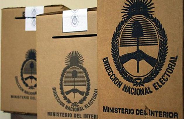 Las urnas – Foto: Web