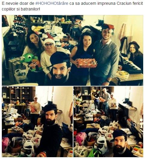 Ajutoarele lui Moș Crăciun, la treabă