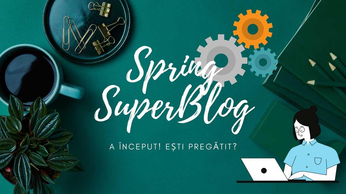 Vestitul vestitor al primăverii este aici! Încă un Spring SuperBlog a început!