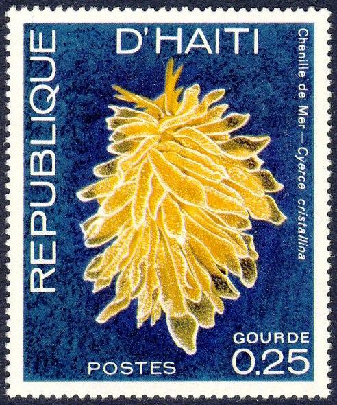 stamp Cyerce cristallina - Haiti