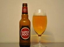 Portugalské pivo Super Bock