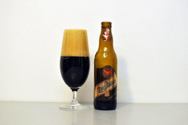 Šok z Hurbanova. Prvotriedne pivo (Medový Porter)