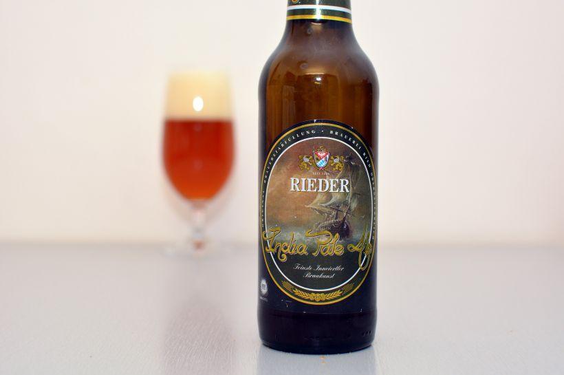 Nevýrazná IPA z Rakúska (Rieder India Pale Ale)