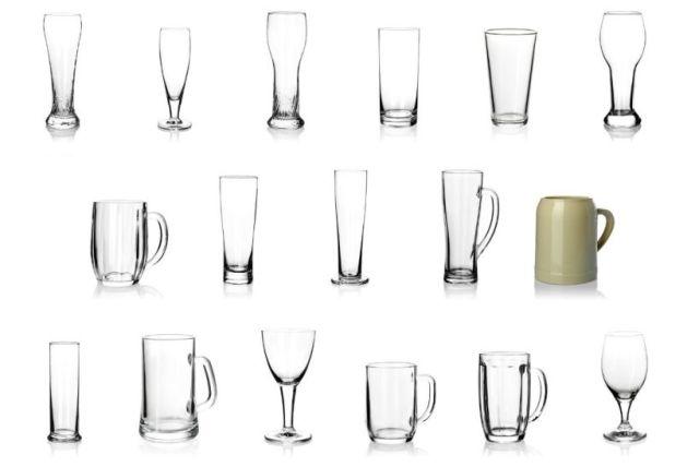 SAHM, poháre, sklo
