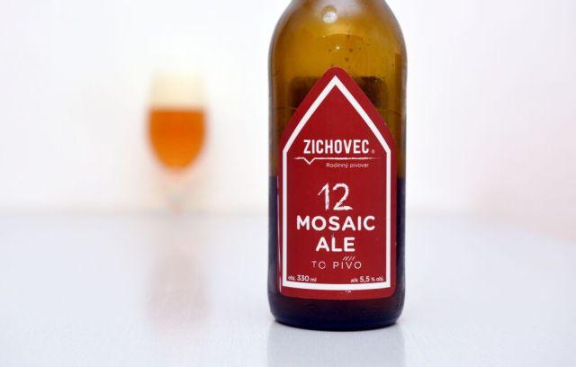 Mosaic, Mosaic Ale, Zichovec, APA, recenzia