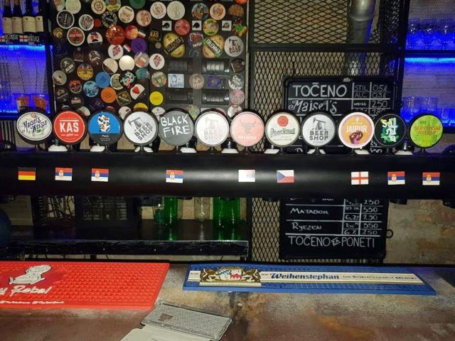 Srbsko, pivo, ponuka, výčap, srbské pivo