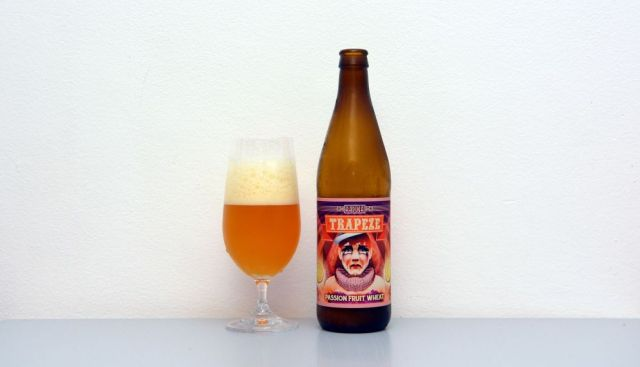 Trapeze, Browar Raduga, Poľsko, poľské pivo, pšeničné pivo, Weizen