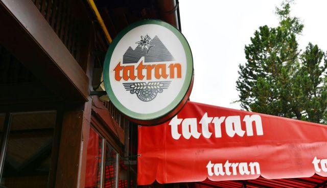 Tatran, pivo Tatran, baner, pútač, popradské pivo