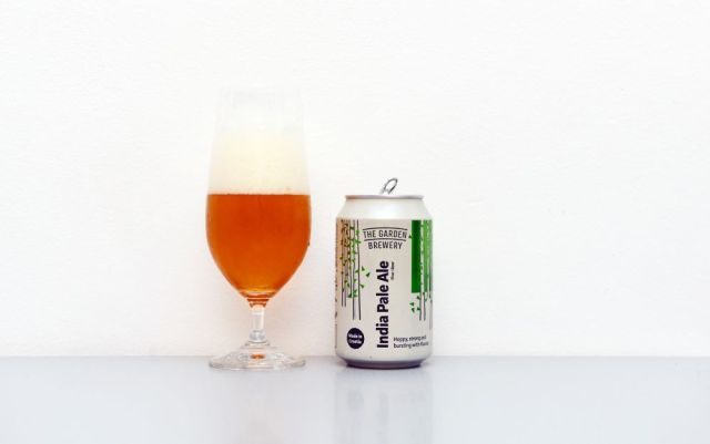 The Garden Brewery, India Pale Ale, IPA, chorvátske pivo, recenzia, test, pivo