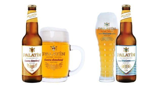 Nové pivá značky Palatín z pivovaru Steiger.