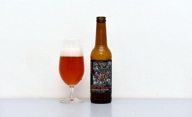 Pivo Point of No Return od Unorthodox Brewing.