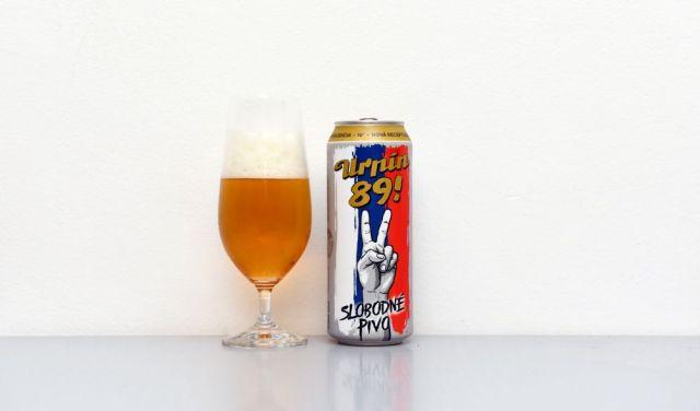 Banskobystrický pivovar, Urpín 89!, retro, test, recenzia,