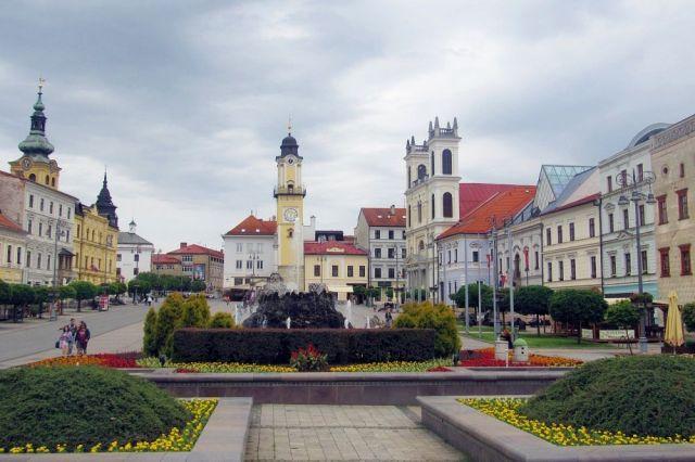 Snímka z Banskobystrického kraja.
