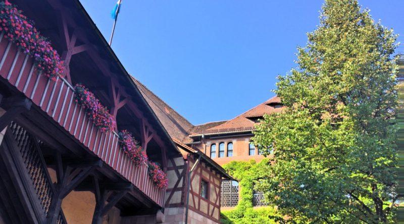 Hof der Kaiserburg