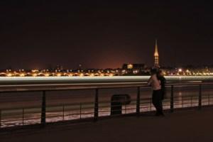 Langzeitbelichtung in Bordeaux
